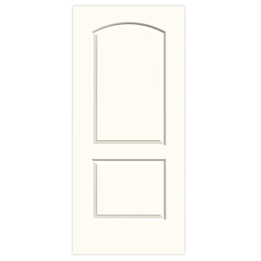 JELD-WEN Continental White Hollow Core Molded Composite Slab Interior Door (Common: 36-in x 80-in; Actual: 36-in x 80-in)