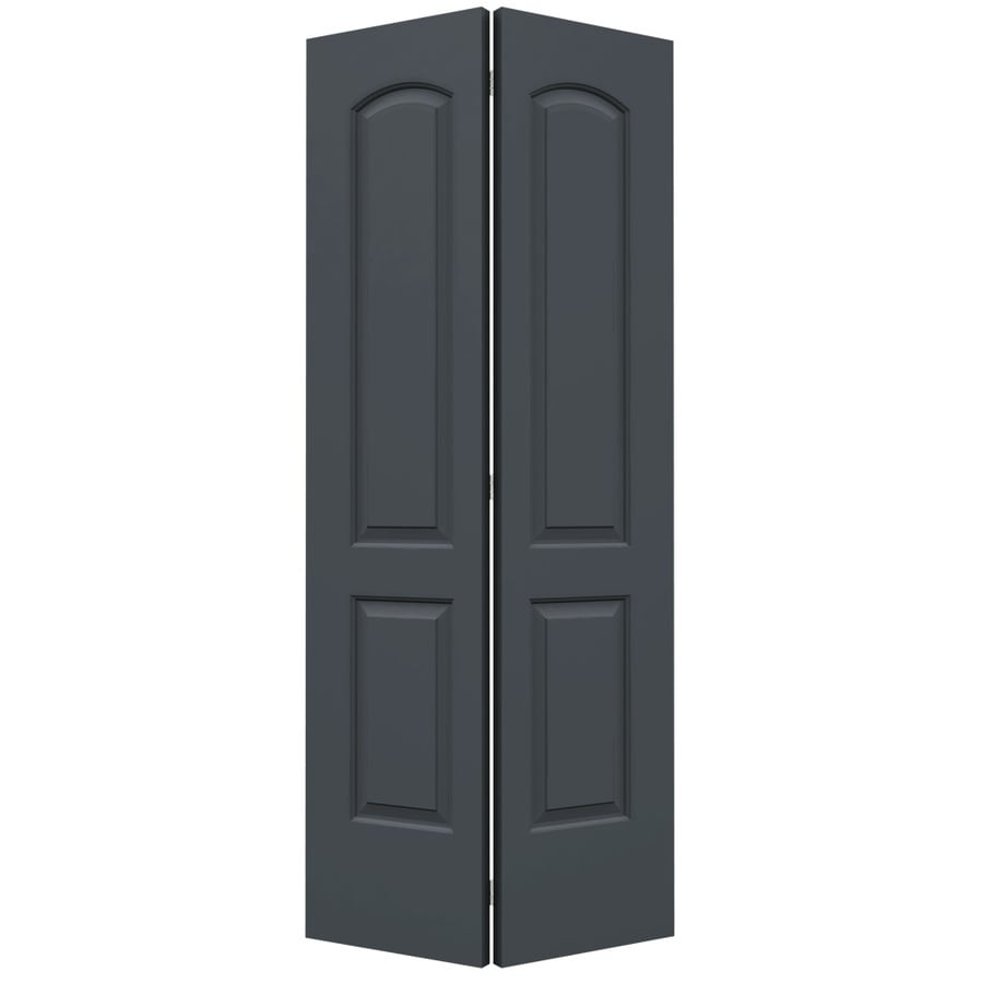 ReliaBilt Continental Slate Hollow Core Molded Composite Bi-Fold Closet Interior Door with Hardware (Common: 36-in x 80-in; Actual: 35.5000-in x 79-in)