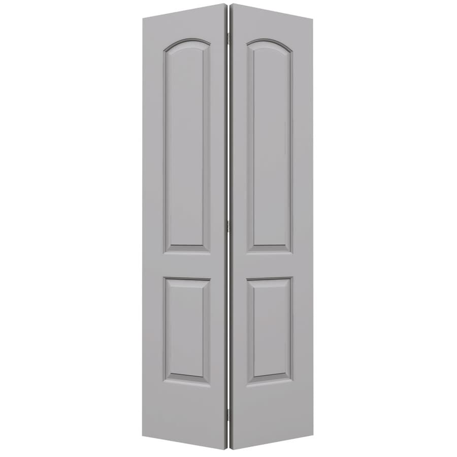 ReliaBilt Continental Drift Hollow Core Molded Composite Bi-Fold Closet Interior Door with Hardware (Common: 36-in x 80-in; Actual: 35.5-in x 79-in)