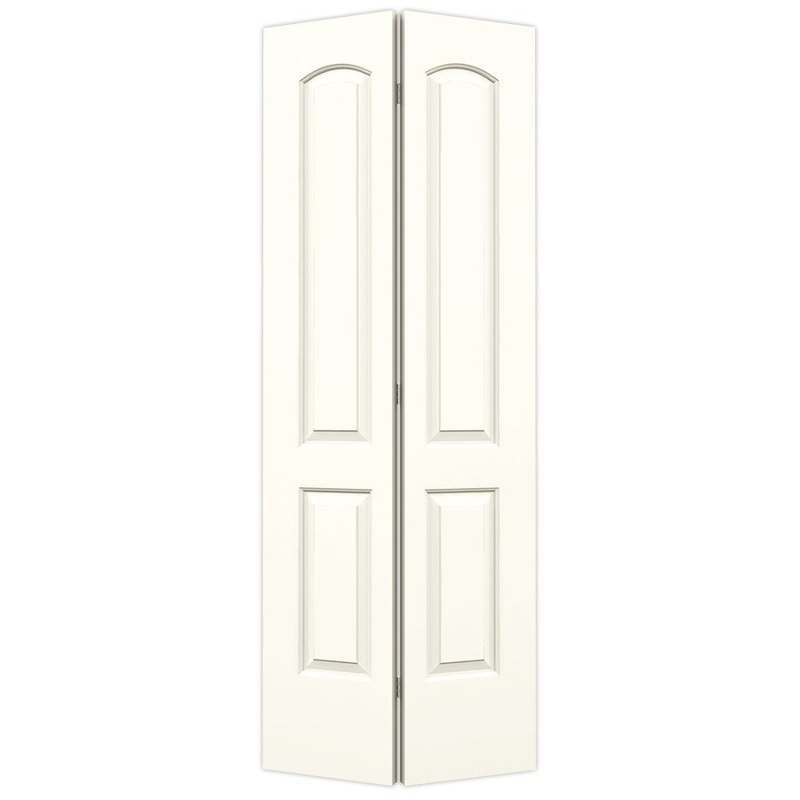 Jeld Wen Continental Moonglow 2 Panel Round Top Molded