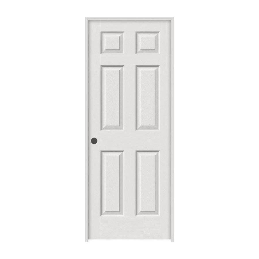 ReliaBilt Colonist Primed Hollow Core Molded Composite Single Prehung Interior Door (Common: 36-in x 80-in; Actual: 37.5-in x 81.5-in)