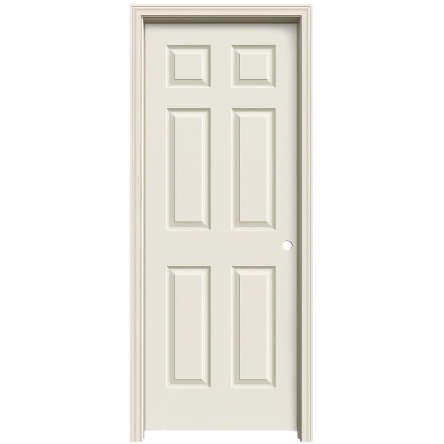 ReliaBilt Prehung Solid Core 6-Panel Interior Door (Common: 30-in x 80-in; Actual: 31.5630-in x 81.0630-in)