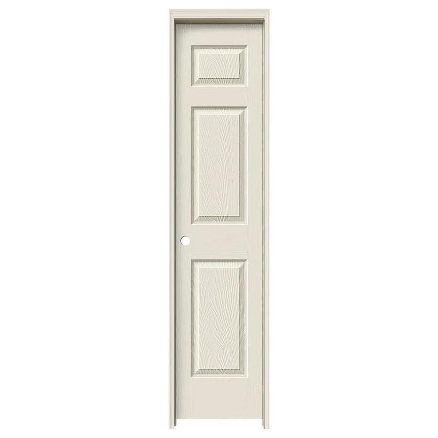 ReliaBilt Colonist Primed Hollow Core Molded Composite Single Prehung Interior Door (Common: 18-in x 80-in; Actual: 19.5-in x 81.5-in)