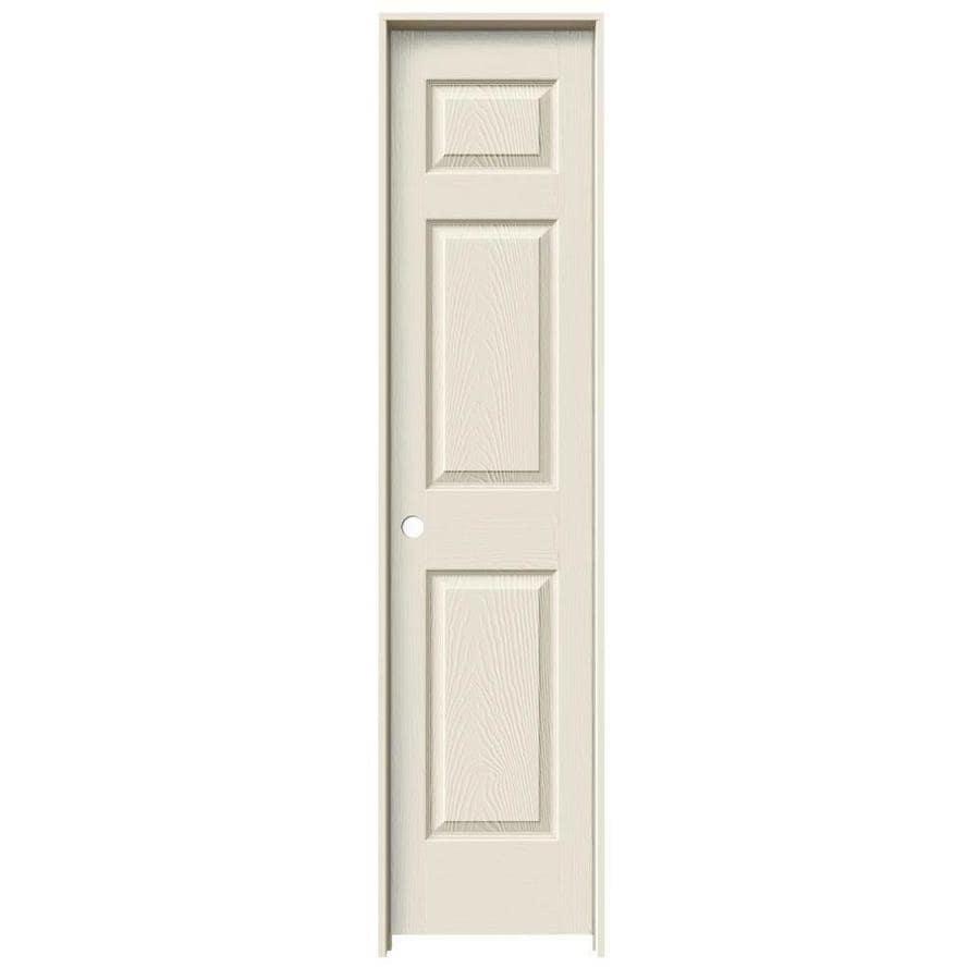ReliaBilt 6-panel Single Prehung Interior Door (Common: 18-in X 80-in; Actual: 19.5-in x 81.5-in)
