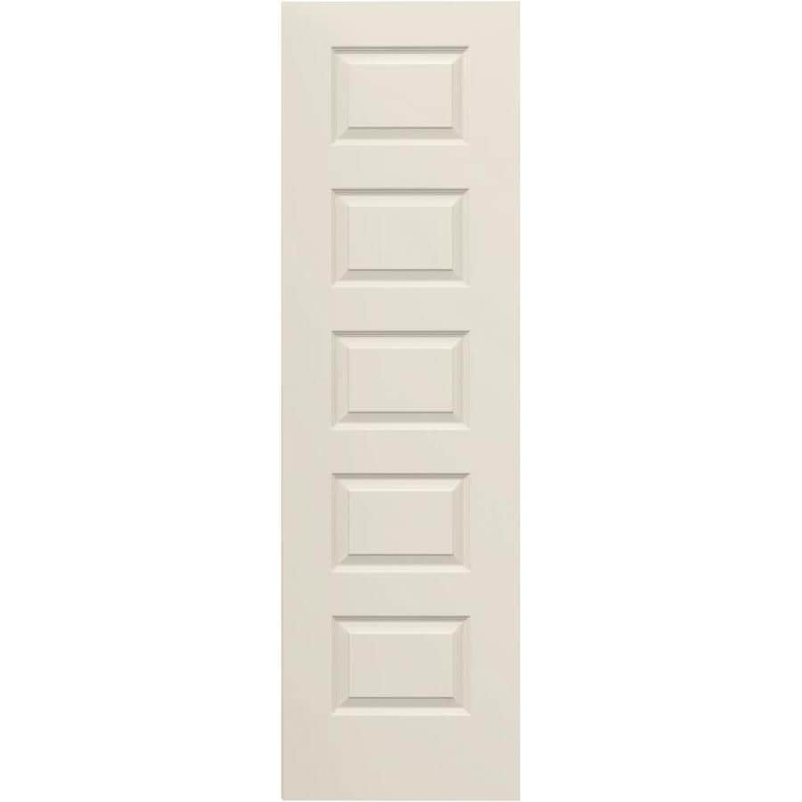 ReliaBilt 5-panel Equal Slab Interior Door (Common: 24-in x 80-in; Actual: 24-in x 80-in)