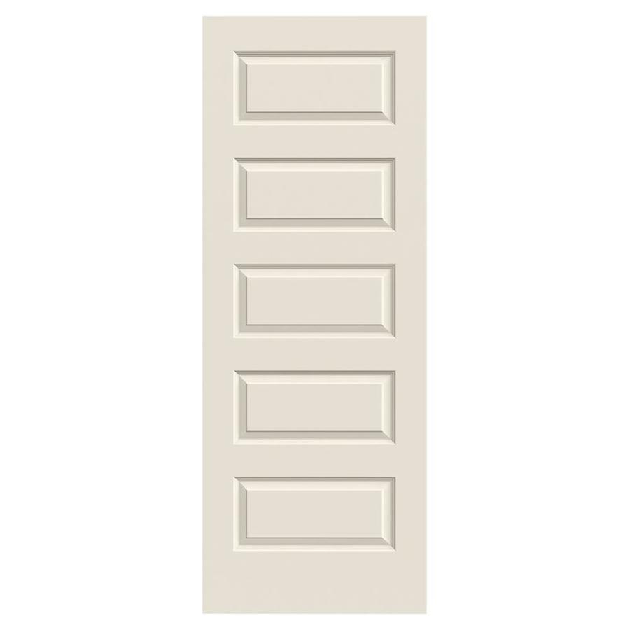 ReliaBilt Rockport Primed Hollow Core Molded Composite Slab Interior Door (Common: 30-in x 80-in; Actual: 30-in x 80-in)