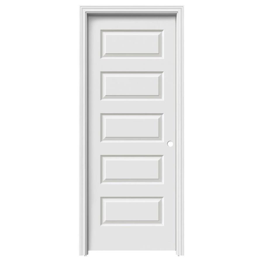 ReliaBilt Rockport Single Prehung Interior Door (Common: 32-in x 80-in; Actual: 33.56-in x 81.688-in)