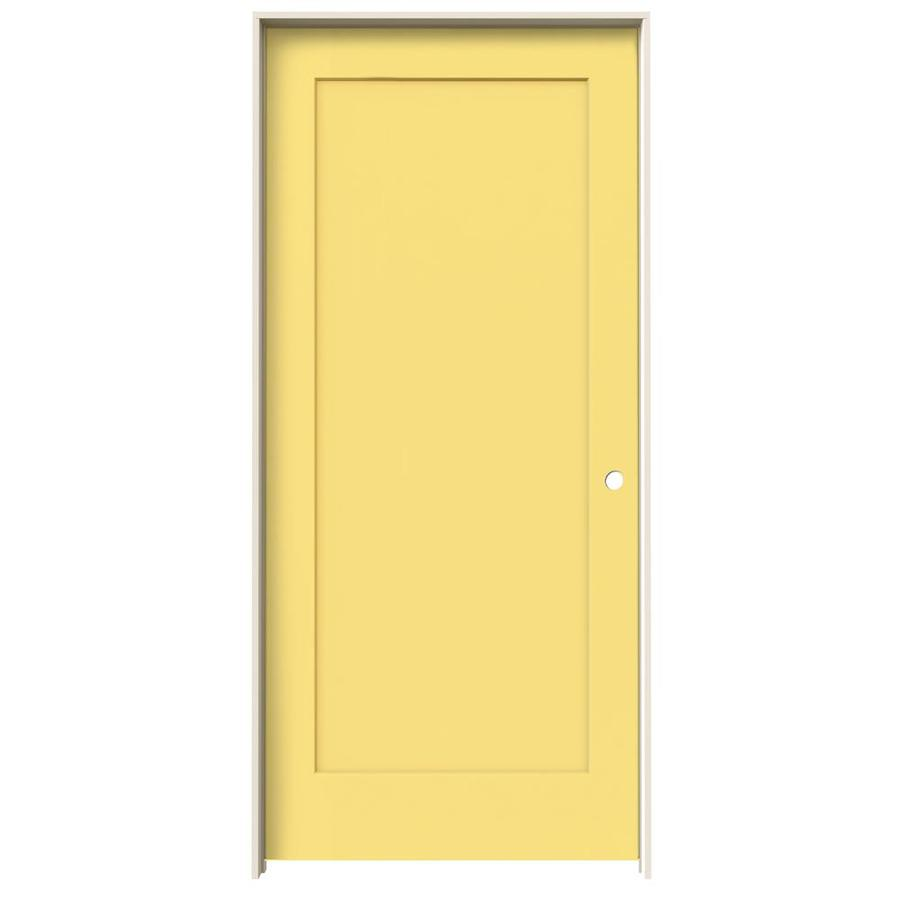 Jeld Wen Madison Marigold 1 Panel Square Hollow Core