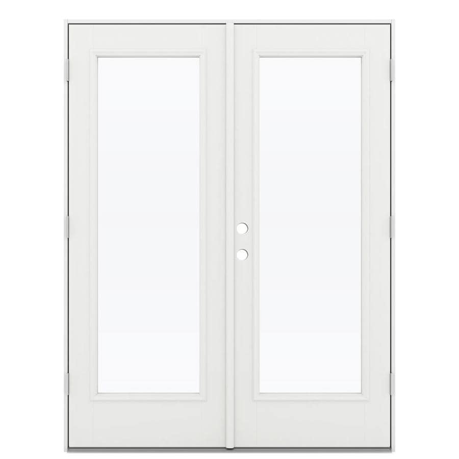 Shop reliabilt 59 5 in x left hand outswing for Fiberglass french patio doors