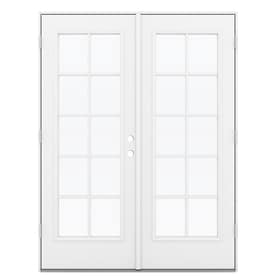 Jeld Wen Simulated Divided Light Steel French Patio Door