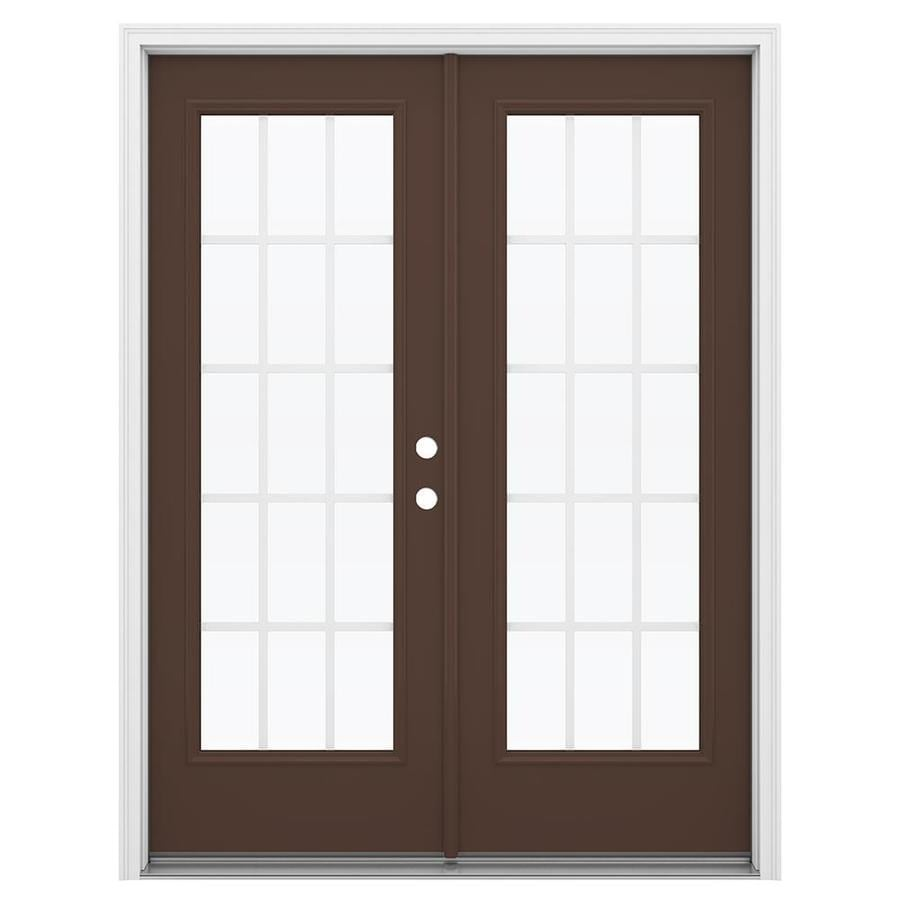 Shop reliabilt 59 5 in 15 lite grilles between the glass for 15 french door