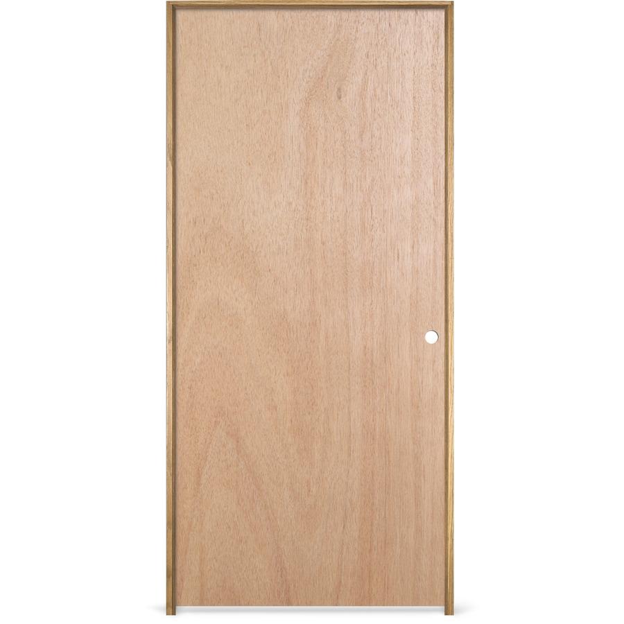 shop reliabilt prehung hollow core flush lauan interior door common 30 in x 78 in actual 31