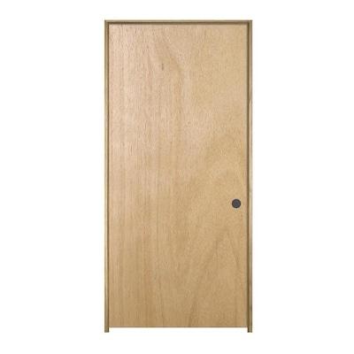 Hollow Core Lauan Single Prehung Interior Door Common 36 In X 80 In Actual 37562 In X 81688 In