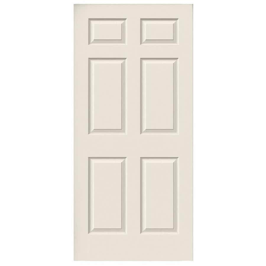 JELD-WEN Colonist Slab Interior Door (Common: 36-in x 80-in; Actual: 36-in x 80-in)