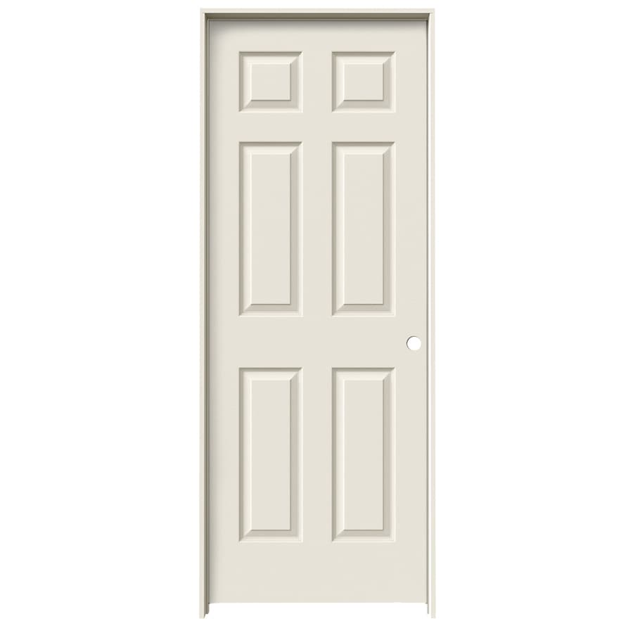 JELD-WEN Colonist Primed Hollow Core Molded Composite Single Prehung Interior Door (Common: 32-in x 80-in; Actual: 33.562-in x 81.688-in)