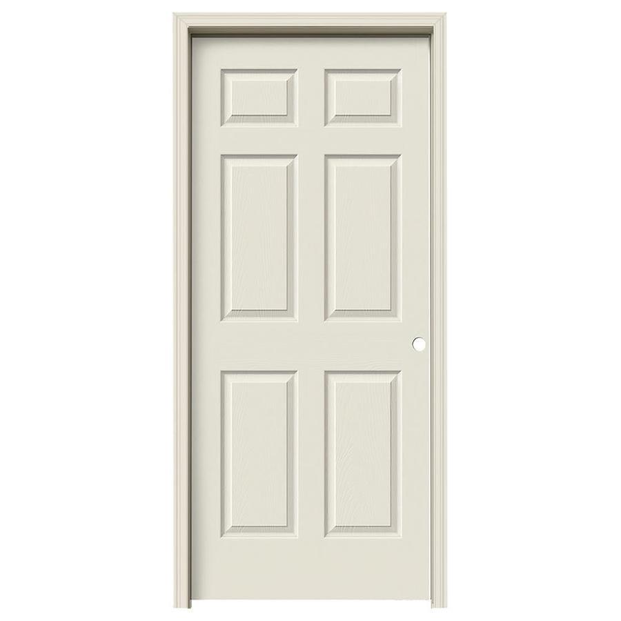 JELD-WEN Colonist Single Prehung Interior Door (Common: 36-in x 80-in; Actual: 37.562-in x 81.688-in)