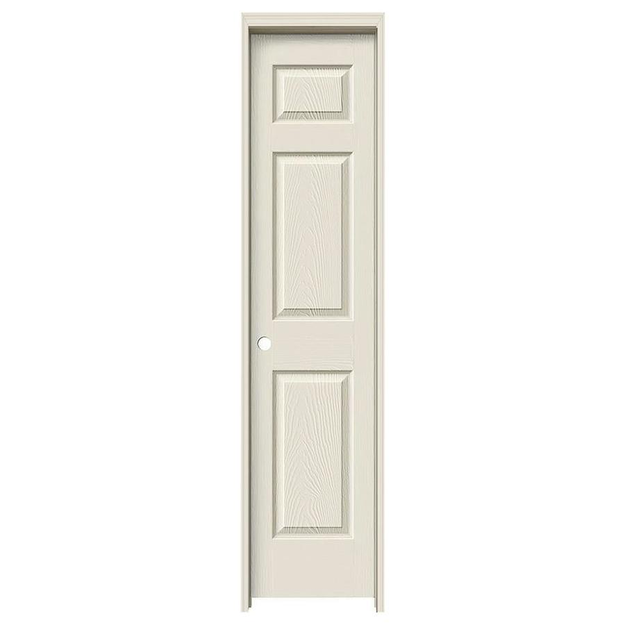 JELD-WEN 6-panel Single Prehung Interior Door (Common: 18-in x 80-in; Actual: 19.563-in x 81.688-in)
