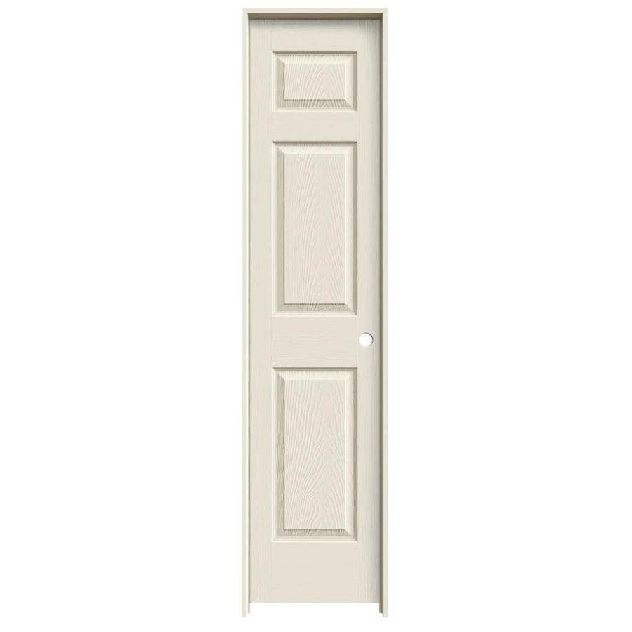 JELD-WEN Prehung Hollow Core 6-Panel Interior Door (Common: 18-in x 80-in; Actual: 19.563-in x 81.688-in)