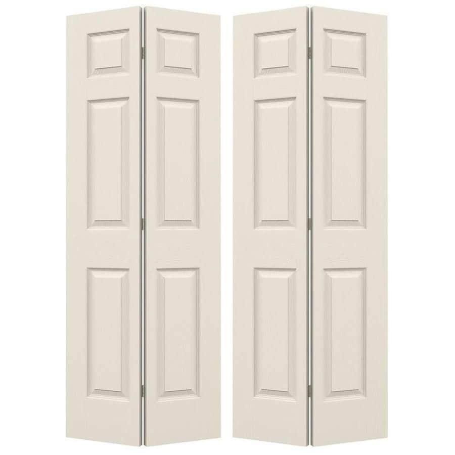JELD-WEN Colonist Double Prehung Interior Door (Common: 48-in x 80-in; Actual: 47.5-in x 79-in)