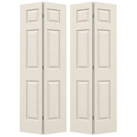 JELD WEN Colonist Primed Hollow Core Molded Composite Bi Fold Closet  Interior Door With