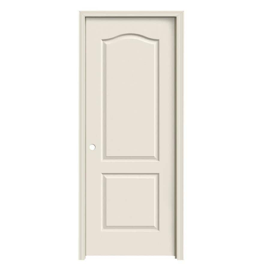 JELD-WEN Camden Single Prehung Interior Door (Common: 30-in x 80-in; Actual: 31.562-in x 81.688-in)