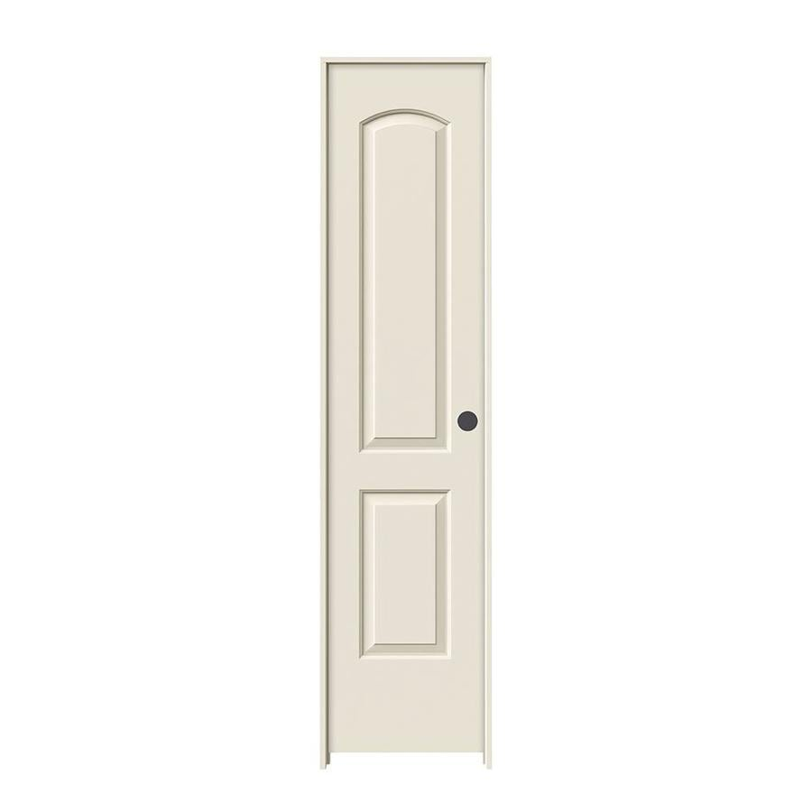 JELD-WEN Prehung Hollow Core 2-Panel Round Top Interior Door (Common: 18-in x 80-in; Actual: 19.562-in x 81.688-in)
