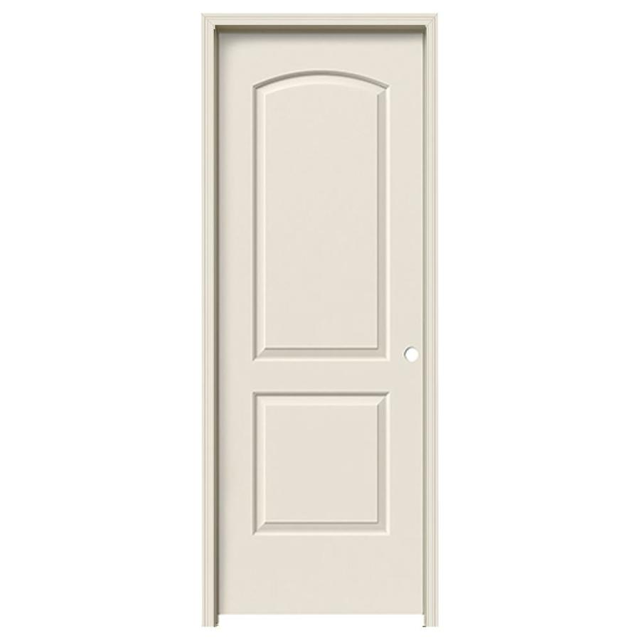 JELD-WEN Prehung Hollow Core 2-Panel Round Top Interior Door (Common: 30-in x 80-in; Actual: 31.562-in x 81.688-in)