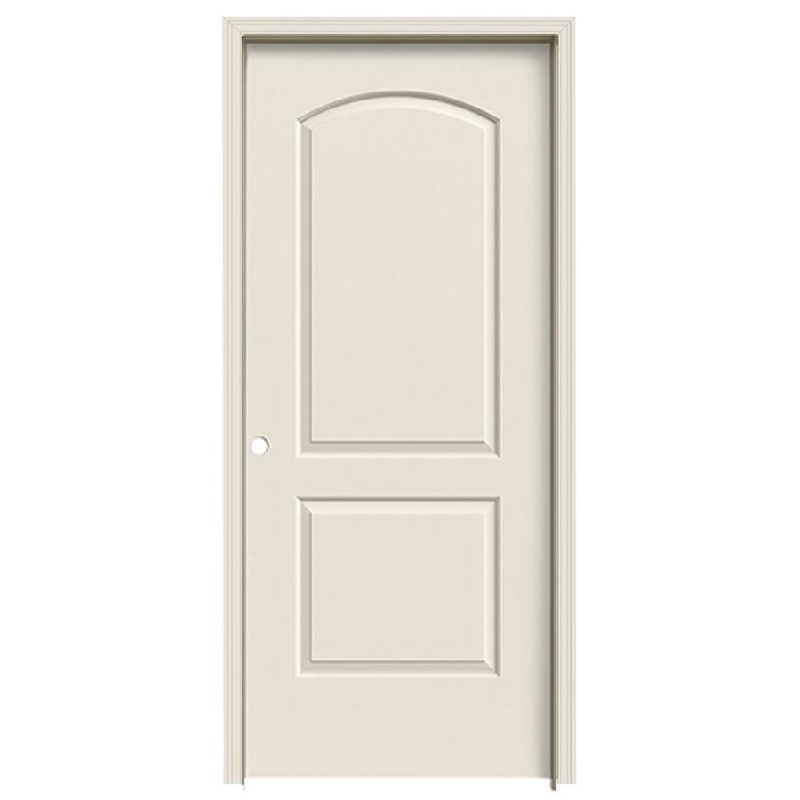 JELD-WEN Continental Single Prehung Interior Door (Common: 36-in x 80-in; Actual: 37.5620-in x 81.6880-in)