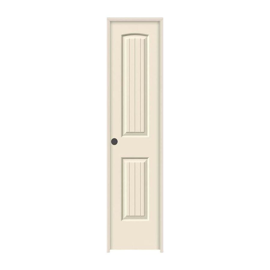 JELD-WEN Santa Fe Primed Hollow Core Molded Composite Single Prehung Interior Door (Common: 18-in x 80-in; Actual: 19.5620-in x 81.6880-in)