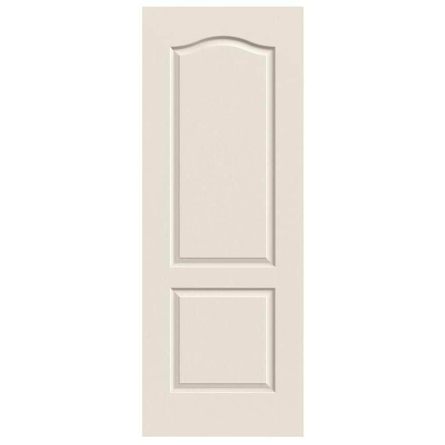 JELD-WEN Camden Primed Hollow Core Molded Composite Slab Interior Door (Common: 28-in x 80-in; Actual: 28-in x 80-in)