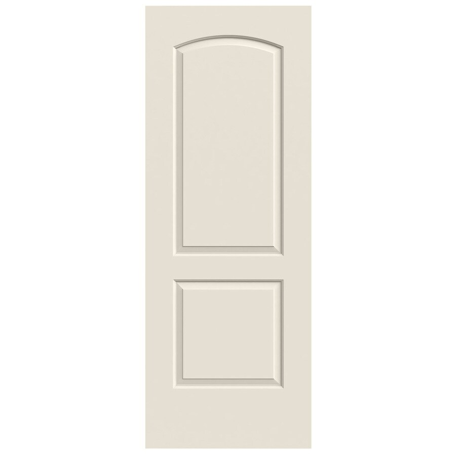 JELD-WEN Continental Primed Hollow Core Molded Composite Slab Interior Door (Common: 28-in x 80-in; Actual: 28-in x 80-in)