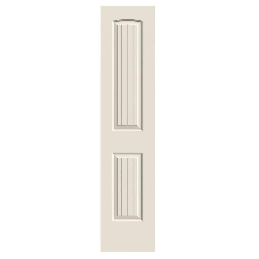 JELD-WEN Hollow Core 2-Panel Round Top Plank Slab Interior Door (Common: 18-in x 80-in; Actual: 18-in x 80-in)