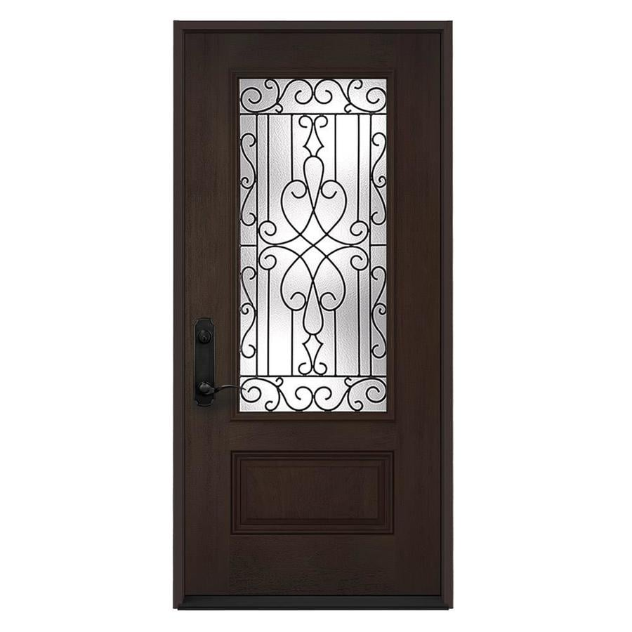 Shop Jeld Wen Wyngate Decorative Glass Right Hand Inswing