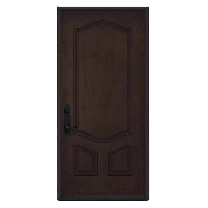 Jeld Wen 36 In X 80 In Fiberglass Right Hand Inswing Walnut Stain Stained Prehung Single Front Door In The Front Doors Department At Lowes Com Find 82 exterior door in canada | visit kijiji classifieds to buy, sell, or trade almost anything! jeld wen 36 in x 80 in fiberglass right