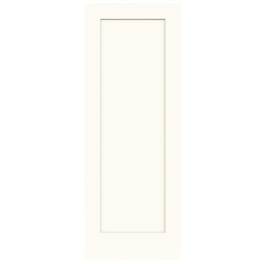 JELD-WEN Madison White Hollow Core 1-Panel Slab Interior Door (Common: 30-in x 80-in; Actual: 30-in x 80-in)
