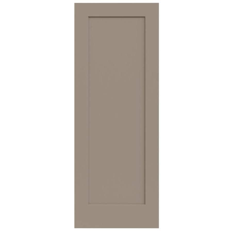 JELD-WEN Cambridge Sand Piper Hollow Core Molded Composite Slab Interior Door (Common: 30-in x 80-in; Actual: 30-in x 80-in)
