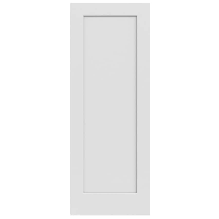 JELD-WEN Continental 1-panel Slab Interior Door (Common: 30-in x 80-in; Actual: 30-in x 80-in)