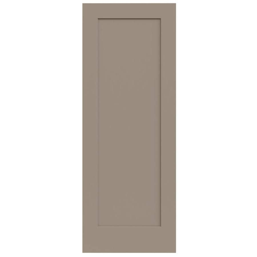 JELD-WEN Madison Sand Piper Solid Core 1-Panel Slab Interior Door (Common: 30-in x 80-in; Actual: 30-in x 80-in)