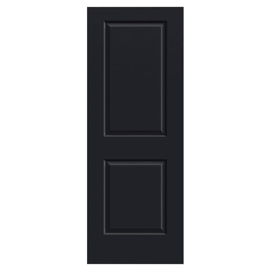 JELD-WEN Cambridge Midnight Hollow Core 2-Panel Square Slab Interior Door (Common: 30-in x 80-in; Actual: 30-in x 80-in)