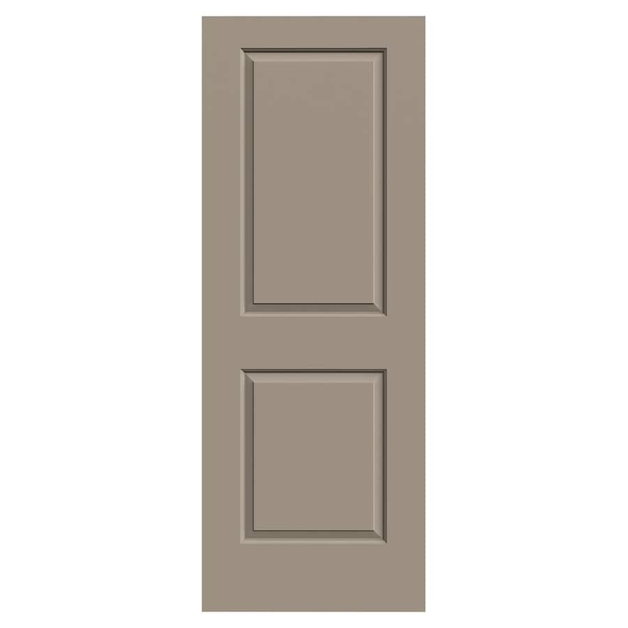 JELD-WEN Cambridge Sand Piper Solid Core 2-Panel Square Slab Interior Door (Common: 30-in x 80-in; Actual: 30-in x 80-in)
