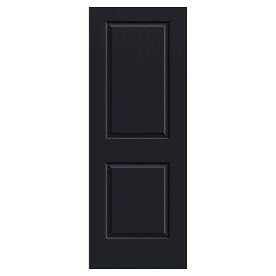 JELD-WEN Craftsman Midnight Molded Composite Slab Interior Door (Common: 30-in x 80-in; Actual: 30-in x 80-in)