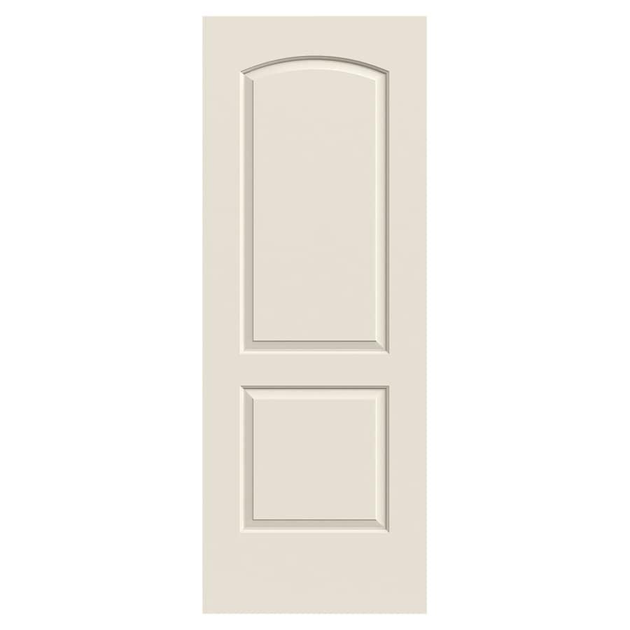 JELD-WEN Continental Hollow Core 2-Panel Round Top Slab Interior Door (Common: 30-in x 80-in; Actual: 30-in x 80-in)