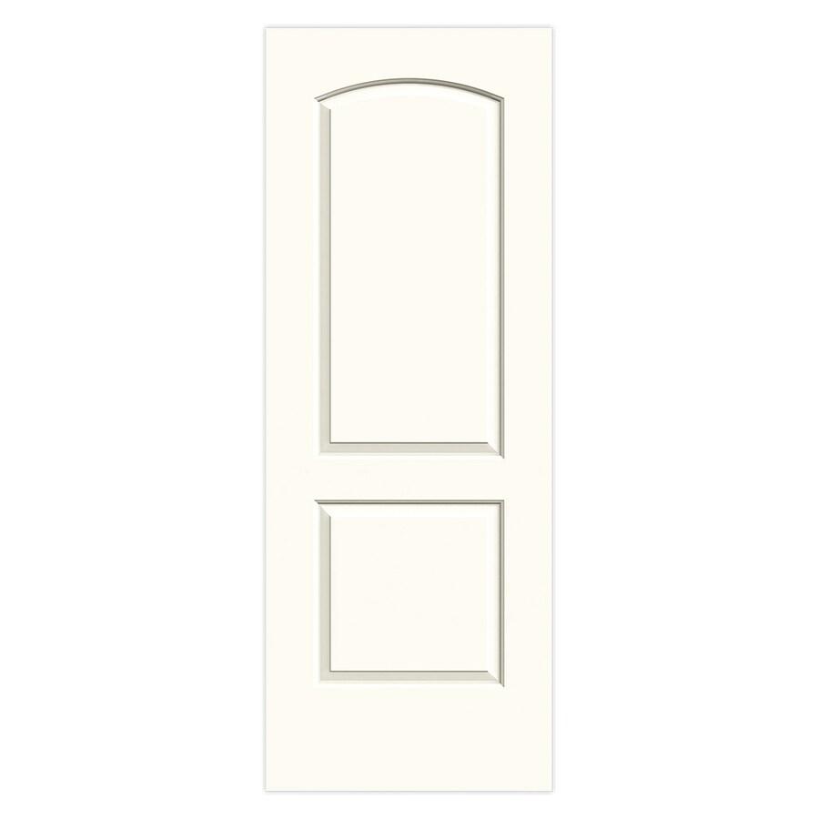 JELD-WEN Madison White Molded Composite Slab Interior Door (Common: 30-in x 80-in; Actual: 30-in x 80-in)