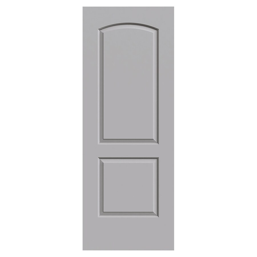 JELD-WEN Rockport Drift Molded Composite Slab Interior Door (Common: 30-in x 80-in; Actual: 30-in x 80-in)