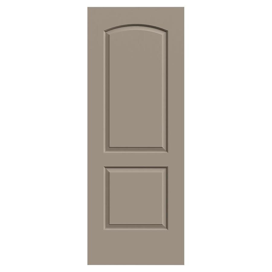 JELD-WEN Rockport Sand Piper Molded Composite Slab Interior Door (Common: 30-in x 80-in; Actual: 30-in x 80-in)
