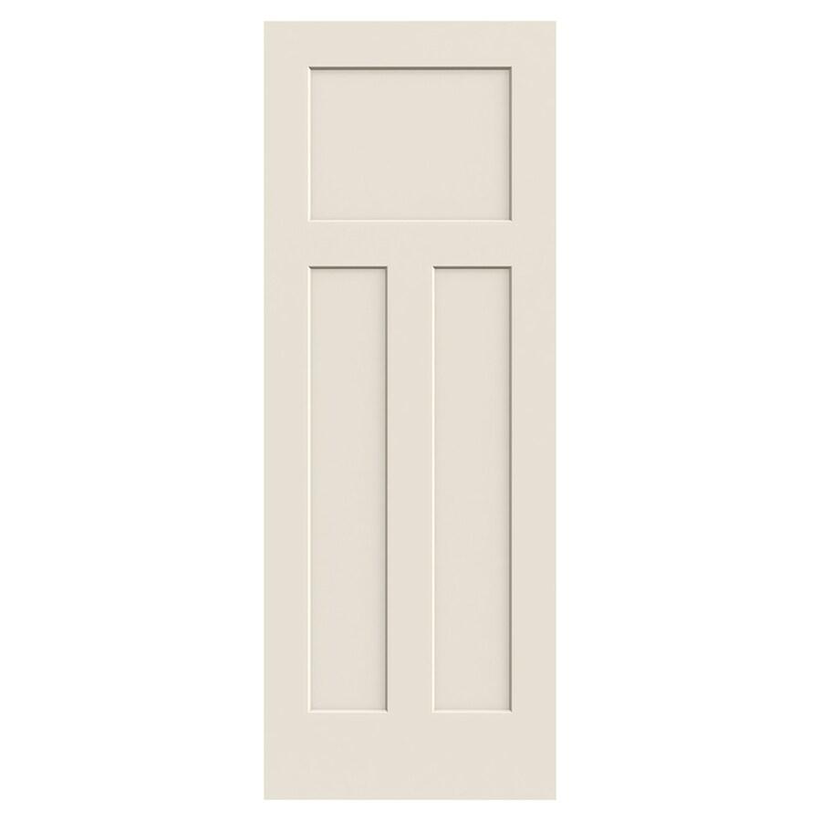 JELD-WEN Craftsman Solid Core 3-Panel Craftsman Slab Interior Door (Common: 30-in x 80-in; Actual: 30-in x 80-in)