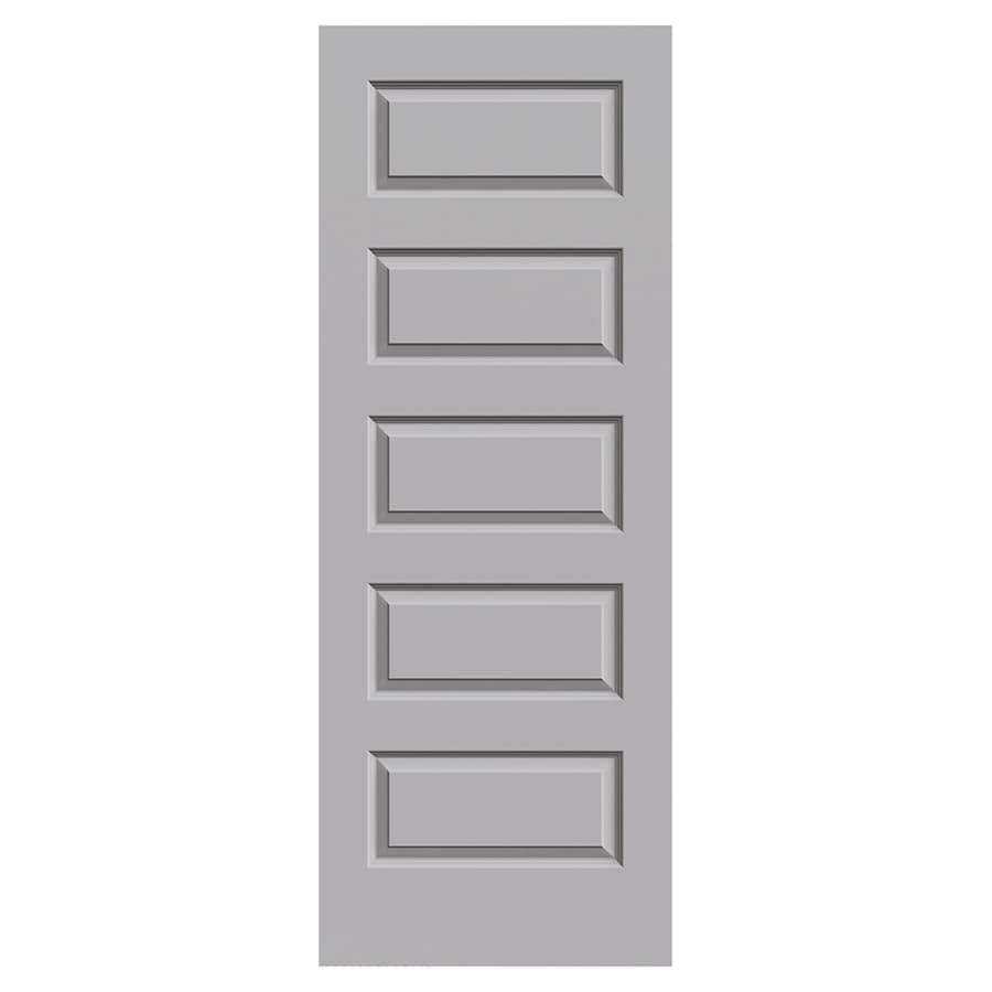 JELD-WEN Craftsman Drift Molded Composite Slab Interior Door (Common: 30-in x 80-in; Actual: 30-in x 80-in)