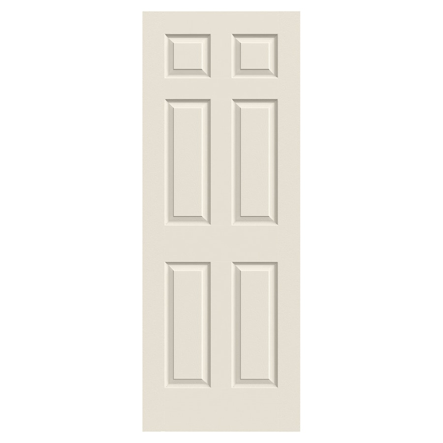 JELD-WEN Colonist Hollow Core 6-Panel Slab Interior Door (Common: 30-in x 80-in; Actual: 30-in x 80-in)