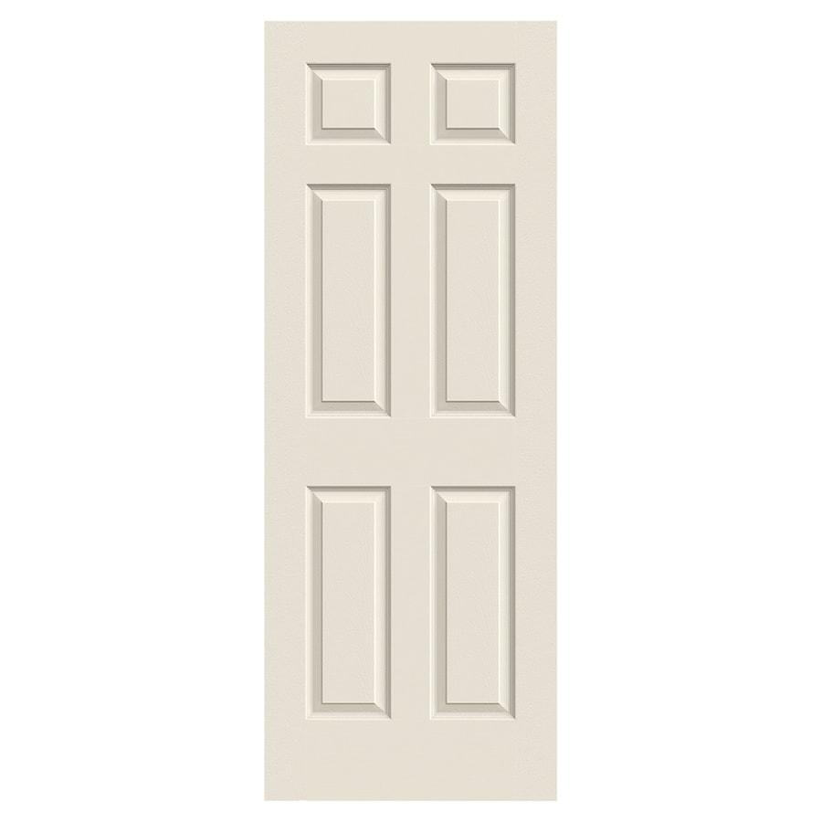 jeldwen cambridge primed molded composite slab interior door common 30in
