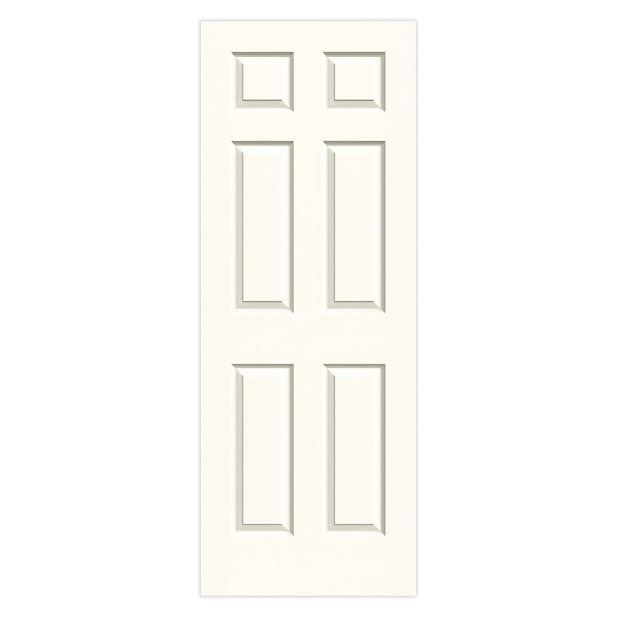 JELD-WEN Cambridge White Molded Composite Slab Interior Door (Common: 30-in x 80-in; Actual: 30-in x 80-in)